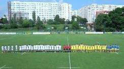 Meciul de Rugby între România A - England Counties