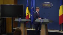 Conferință de presă după ședința Guvernului României din 23 mai 2019