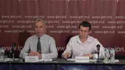 """Conferința de presă organizată de Centrul Social-Politic """"PRO"""" cu tema """"Importanța alegerilor europarlamentare în contextul parcursului european și reunire a Republicii Moldova cu România"""""""