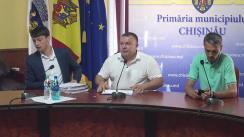 """Briefing susținut de consilierii municipali ai PSRM cu tema """"Situația deplorabilă a terenurilor de joacă de pe teritoriul grădinițelor din capitală"""""""