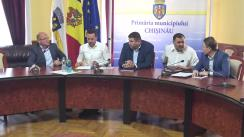 Declarații după ședința săptămânală a serviciilor primăriei Chișinău din 27 mai 2019