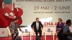 """Evenimentul de lansare a volumului """"EU.RO - Un dialog deschis despre Europa"""" în cadrul Salonului Internațional de Carte Bookfest"""