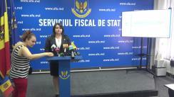 """Briefing organizat de Serviciul Fiscal de Stat cu tema """"Declarația cu privire la impozitul pe venit pentru anul 2018 –  rezultate și constatări"""""""
