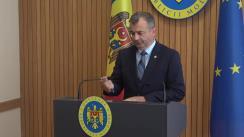Declarațiile lui Ion Chicu după ședința Guvernului Republicii Moldova din 29 mai 2019