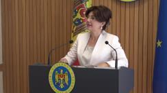 Declarațiile Silviei Radu după ședința Guvernului Republicii Moldova din 29 mai 2019