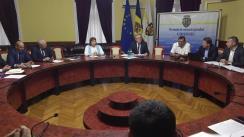 Ședința săptămânală a serviciilor primăriei Chișinău din 3 iunie 2019