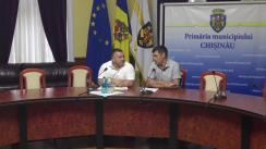 Briefing susținut de către consilierii municipali ai PSRM