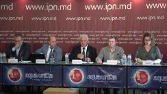 """Conferința de presă organizată de Consiliul Uniunii Avocaților din Republica Moldova cu tema """"Și avocații au nevoie astăzi de apărare"""""""
