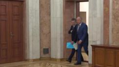 Briefing susținut de Președintele Republicii Moldova, Igor Dodon, și reprezentantul special al Președintelui Federației Ruse pentru dezvoltarea relațiilor comerciale și economice cu Republica Moldova, vicepremierul rus, Dmitri Kozak