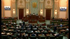 Ședința în plen a Senatului României din 3 iunie 2019