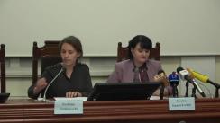 """Conferința de presă organizată de Ministerul Sănătății, Muncii și Protecției Sociale cu tema """"Serviciul de asistență telefonică pentru copii 116.111 - 5 ani de la lansare"""""""