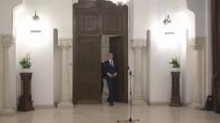 Declarații de presă susținute de reprezentanții USR, după consultările cu Președintele României, Klaus Iohannis, pentru schimbarea Constituției