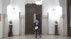 Declarații de presă susținute de reprezentanții ALDE, după consultările cu Președintele României, Klaus Iohannis, pentru schimbarea Constituției