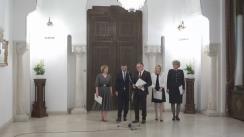 Declarații de presă susținute de reprezentanții Grupului Parlamentar Pro Europa, după consultările cu Președintele României, Klaus Iohannis, pentru schimbarea Constituției
