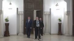 Declarații de presă susținute de reprezentanții Grupului parlamentar al minorităților naționale, după consultările cu Președintele României, Klaus Iohannis, pentru schimbarea Constituției