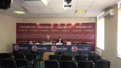 """Conferința de presă organizată de Agenția de inspectare și restaurare a monumentelor cu tema """"Ilegalitățile din Parcul Сentral din Bălți trebuie stopate"""""""