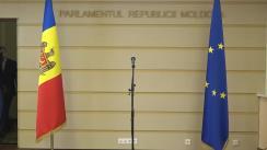 Declarație de presă susținută de reprezentanții Partidului  Socialiștilor din Republica Moldova