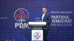 Briefing susținut de Partidul Democrat din Moldova