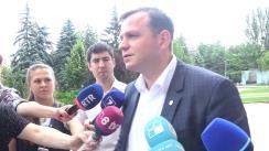 Declarațiile lui Andrei Năstase înainte de Ședința Parlamentului din 8 iunie 2019