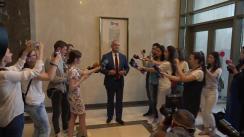 Declarațiile lui Igor Dodon înainte de Ședința Parlamentului Republicii Moldova din 8 iunie 2019