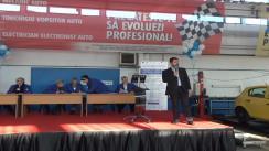 """Eveniment de decernare a Diplomelor de absolvire pentru sudenții anului I de implementare a proiectului : """"Dezvoltarea unui sistem inovativ de formare profesională pentru calificare/recalificare în meserii din domeniul auto"""""""