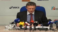 Conferință de presă după ședința Comitetului Olimpic și Sportiv Român