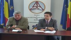 Conferință de presă organizată de Federația Sindicatelor din Industria Alimentară