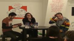 Pink Floyd la Clubul de lectură Bastilia cu Marius Chivu și Radu Naum