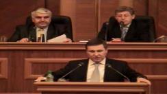 Prezentarea raportului Comisiei de anchetă pentru elucidarea cauzelor și consecințelor evenimentelor de după 5 aprilie 2009  de către Vitalie Nagacevschi