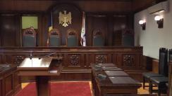 Ședința Curții Constituționale de examinare a sesizării privind dizolvarea Parlamentului Republicii Moldova