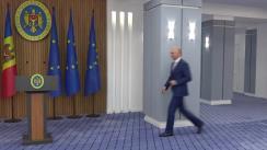 Briefing de presă susținut de Prim-ministrul Republicii Moldova, Pavel Filip