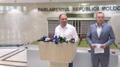 Declarație de presă susținută de deputații fracțiunii PSRM