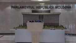 Briefing susținut de prim-ministrul Republicii Moldova, Maia Sandu, cu o adresare către funcționari publici