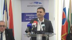 Conferință de presă susținută de viceprim-ministrul Vasile-Daniel Suciu, ministrul dezvoltării regionale și administrației publice, despre proiectul Codului administrativ