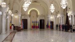 Ceremonia de investitură a unor membri ai Guvernului condus de Viorica Dăncilă