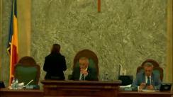 Ședința în plen a Senatului României din 11 iunie 2019