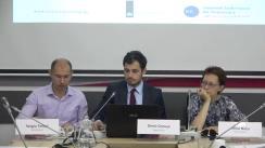 """Conferința organizată de Centrul Analitic Independent """"Expert-Grup"""" cu tema """"Gazoductul Ungheni-Chișinău: perspective până și după 2020"""""""