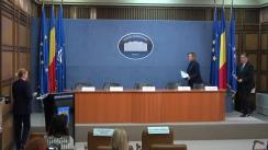 Conferință de presă susținută de Ministrul Afacerilor Interne al României, Carmen Dan
