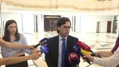 Declarațiile Ministrului Afacerilor Externe și Integrării Europene, Nicu Popescu, după depunerea jurământului