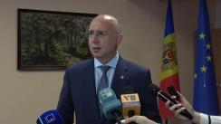 Briefing susținut de Prim-ministrul Pavel Filip după ședința Guvernului