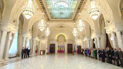 Ceremonia publică de semnare a Acordului Politic Național pentru consolidarea parcursului european al României