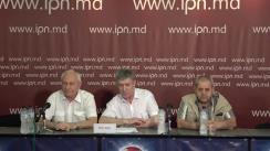 """Conferința de presă organizată de Piotr Guțul, președintele Asociației Republicane Obștești """"Protecția Consumatorului"""" cu tema """"Cine a organizat vizita Eurocomisarului în Moldova? Cine este vinovat în ceea ce se întâmplă și ce este necesar de făcut?"""""""