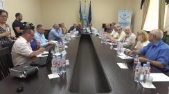 """Masa rotundă cu genericul """"Dimensiunea constituțională a crizei politice din Republica Moldova și perspectiva soluționării"""""""