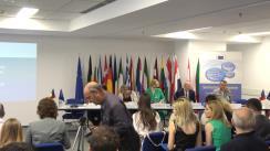 """Conferința cu tema """"Semestrul european: Lansarea recomandărilor specifice de țară pentru Români"""""""