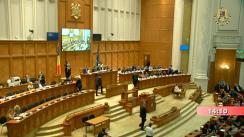 Ședința comună a Camerei Deputaților și Senatului României din 18 iunie 2019