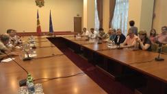 Discuție cu Prim-ministrul Republicii Moldova, Maia Sandu, despre problemele presei și soluțiile necesare pentru a asigura funcționarea unei prese libere și independente