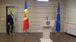 Declarațiile lui Vladimir Cebotari în timpul ședinței Parlamentului Republicii Moldova din 18 iunie 2019