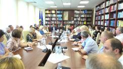 Ședința de lucru organizată de Comisia cultură, educație, cercetare, tineret, sport și mass-media cu participarea rectorilor instituțiilor de învățământ superior și a conducătorilor instituțiilor de învățământ profesional tehnic din Republica Moldova
