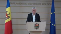 Declarații de presă a Președintelui Comisiei de anchetă pentru elucidarea tuturor circumstanțelor devalizării sistemului bancar din Republica Moldova și investigării fraudei bancare