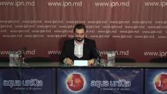 """Conferința de presă susținută de avocatul Gheorghe Macovei cu tema """"9 ani de închisoare pentru un împrumut rambursat de două ori"""""""